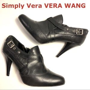 Simply Vera VERA WANG Ibis heeled ankle boots 8.5